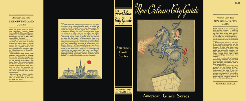 New Orleans City Guide. American Guide Series, WPA