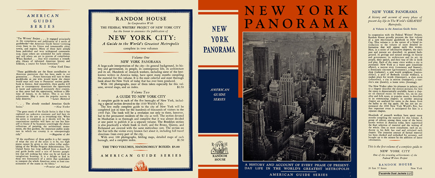 New York Panorama. American Guide Series, WPA