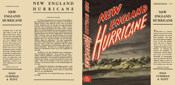 New England Hurricane. WPA