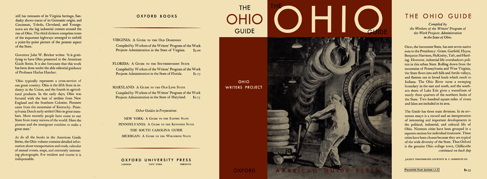 Ohio Guide, The. American Guide Series, WPA