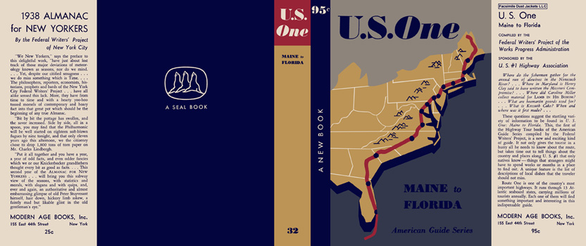 U. S. One, Maine to Florida. American Guide Series, WPA