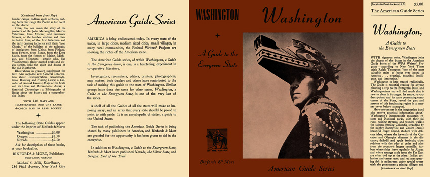 Washington, A Guide to the Evergreen State. American Guide Series, WPA