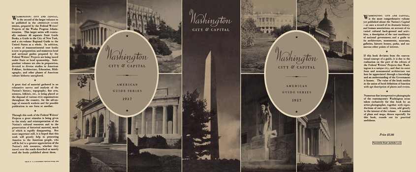 Washington, City and Capital. American Guide Series, WPA