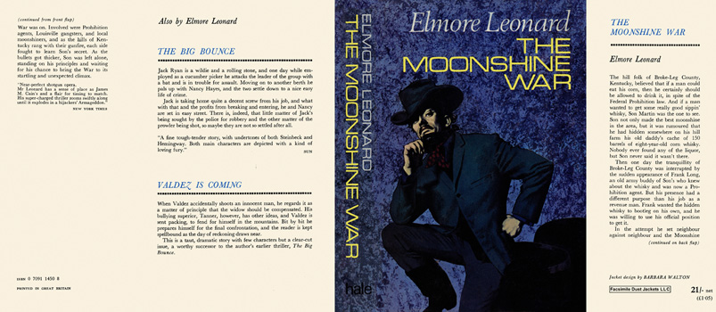Moonshine War, The. Elmore Leonard.