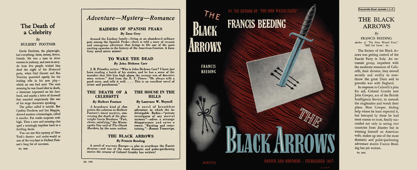 Black Arrows, The. Francis Beeding