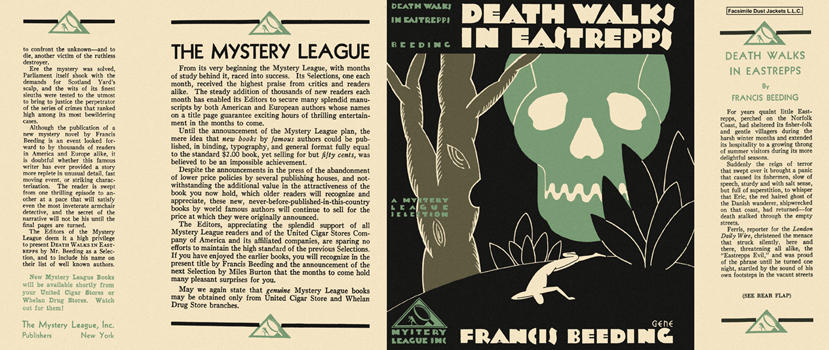 Death Walks in Eastrepps. Francis Beeding