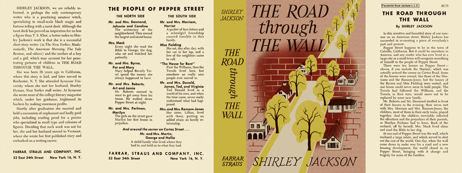 Road Through the Wall, The. Shirley Jackson