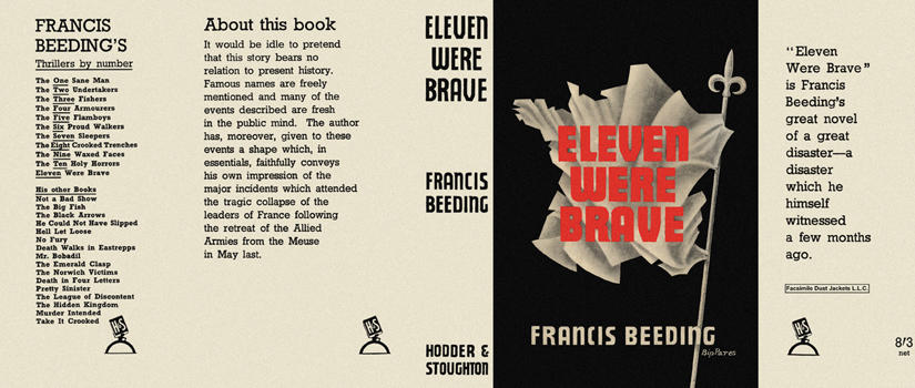 Eleven Were Brave. Francis Beeding