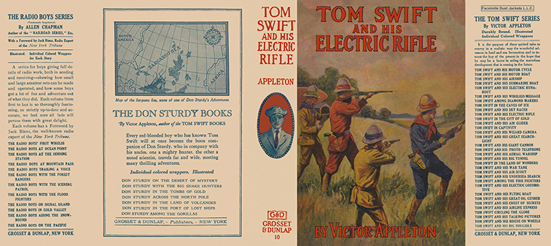 Tom Swift #10: Tom Swift and His Electric Rifle. Victor Appleton.