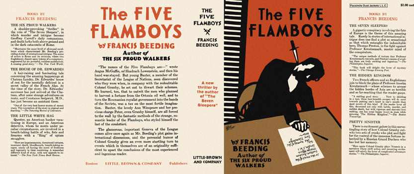 Five Flamboys, The. Francis Beeding.