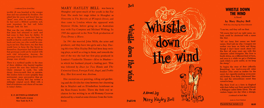 Whistle Down the Wind. Mary Hayley Bell