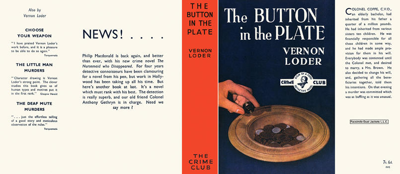 Button in the Plate, The. Vernon Loder