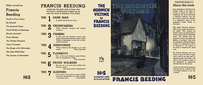 Norwich Victims, The. Francis Beeding.