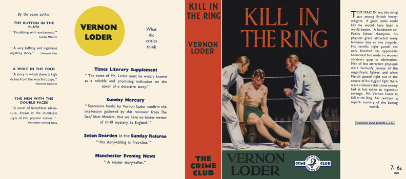 Kill in the Ring. Vernon Loder