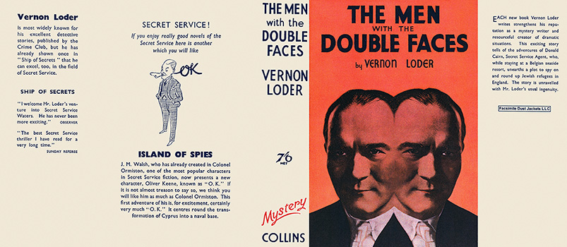 Men with the Double Faces, The. Vernon Loder