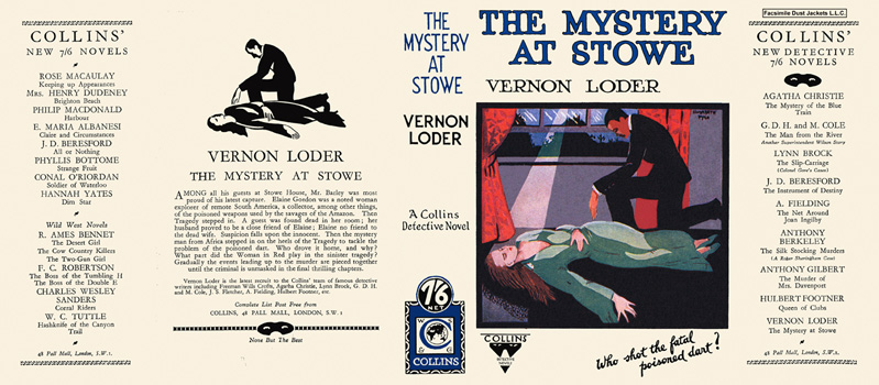 Mystery at Stowe, The. Vernon Loder