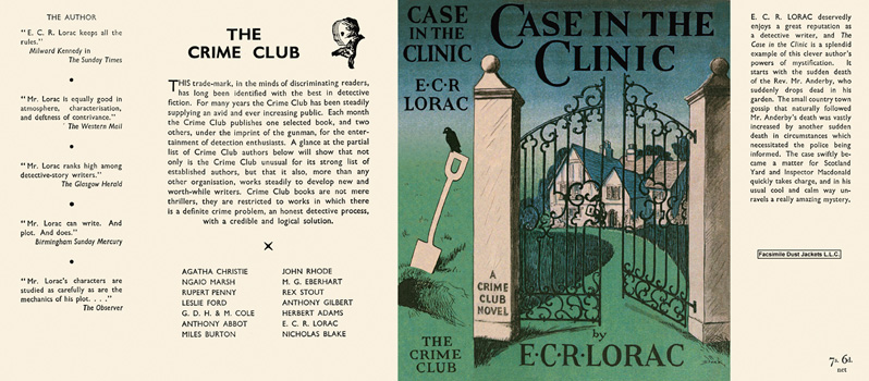 Case in the Clinic. E. C. R. Lorac