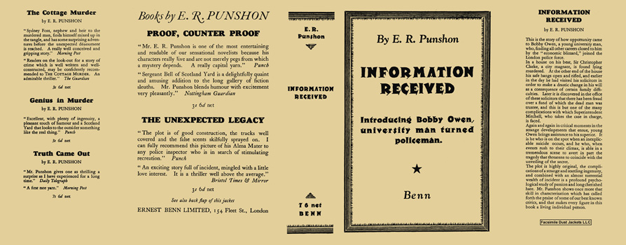 Information Received. E. R. Punshon