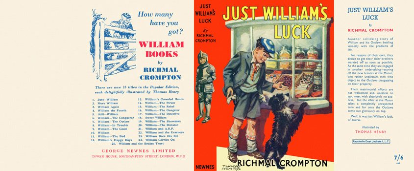 Just William's Luck. Richmal Crompton