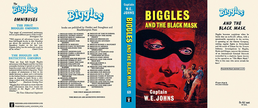 Biggles and the Black Mask. Captain W. E. Johns