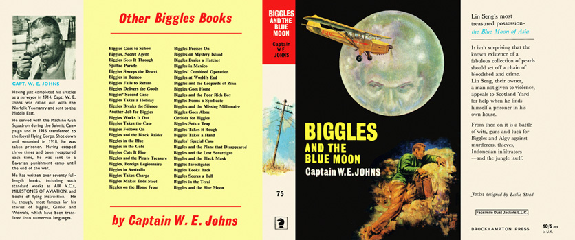 Biggles and the Blue Moon. Captain W. E. Johns