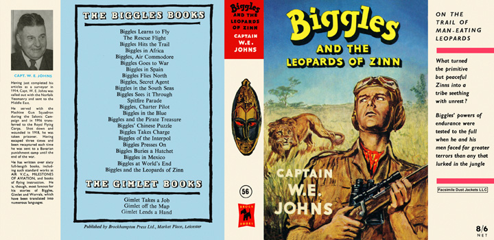 Biggles and the Leopards of Zinn. Captain W. E. Johns.