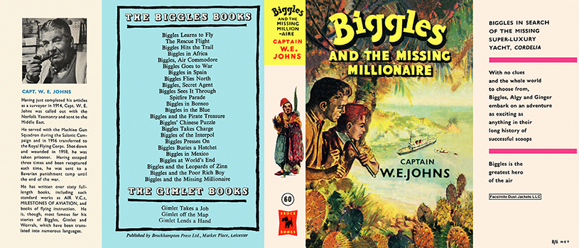 Biggles and the Missing Millionaire. Captain W. E. Johns