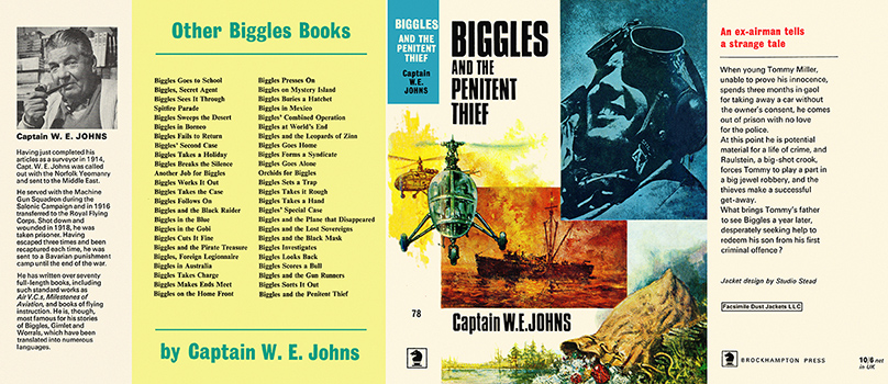 Biggles and the Penitent Thief. Captain W. E. Johns