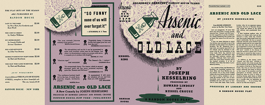 Arsenic and Old Lace. Joseph Kesselring.
