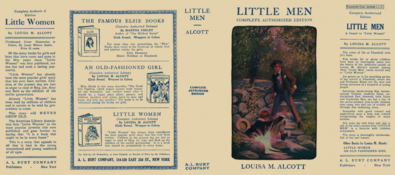 Little Men. Louisa M. Alcott.