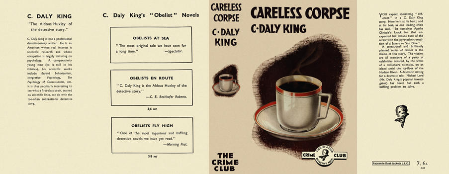 Careless Corpse. C. Daly King