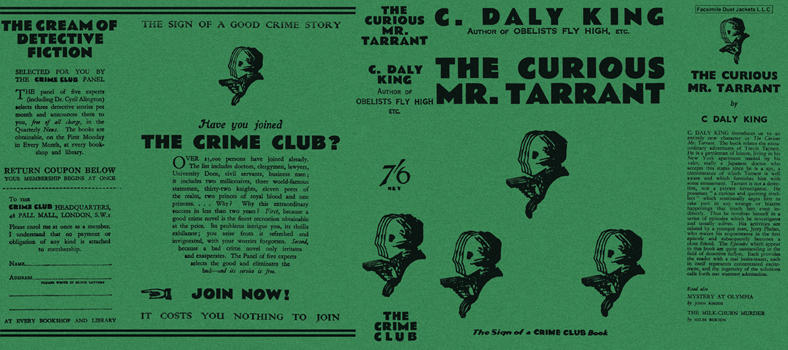 Curious Mr. Tarrant, The. C. Daly King
