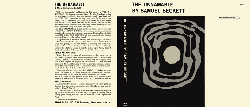 Unnamable, The. Samuel Beckett