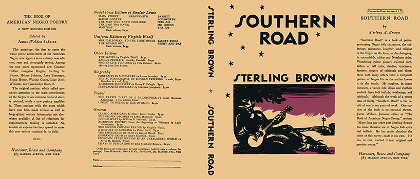 Southern Road. Sterling Brown