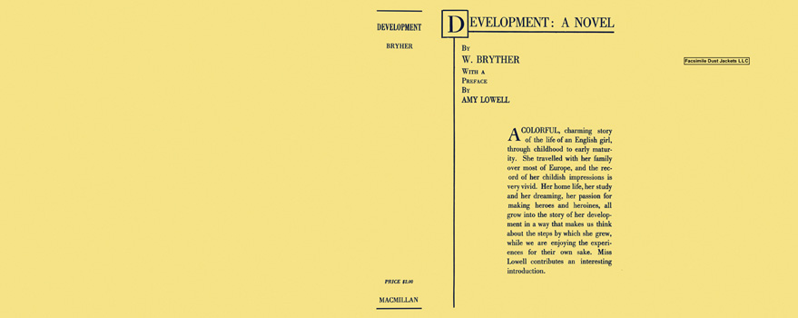 Development: A Novel. W. Bryther