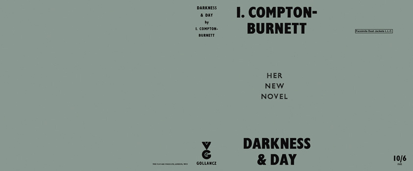 Darkness and Day. Ivy Compton-Burnett.