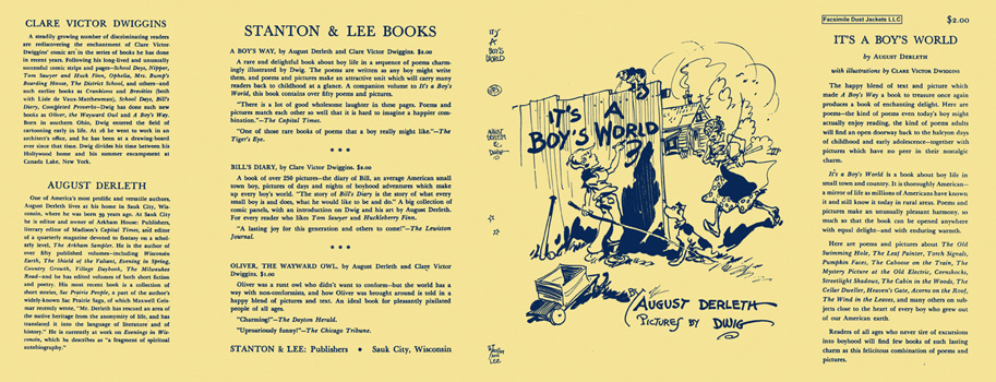 It's a Boy's World. August Derleth, Clare Victor Dwiggins
