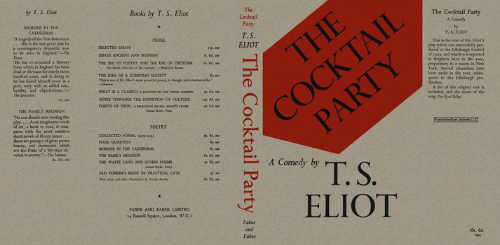 Cocktail Party, The. T. S. Eliot