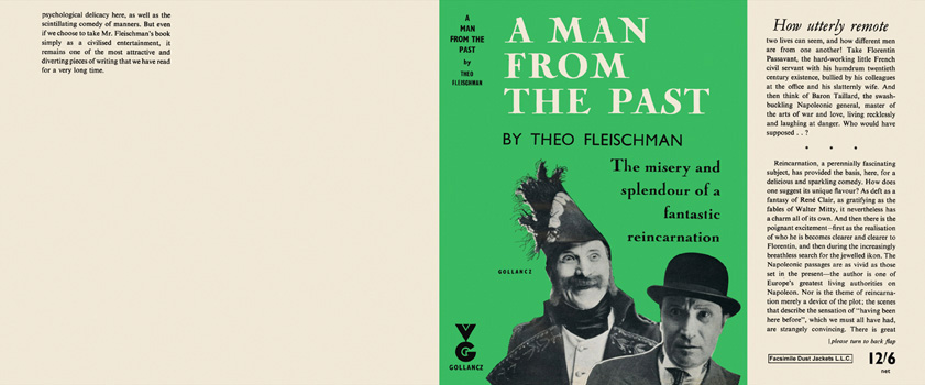 Man from the Past, A. Theo Fleischman.