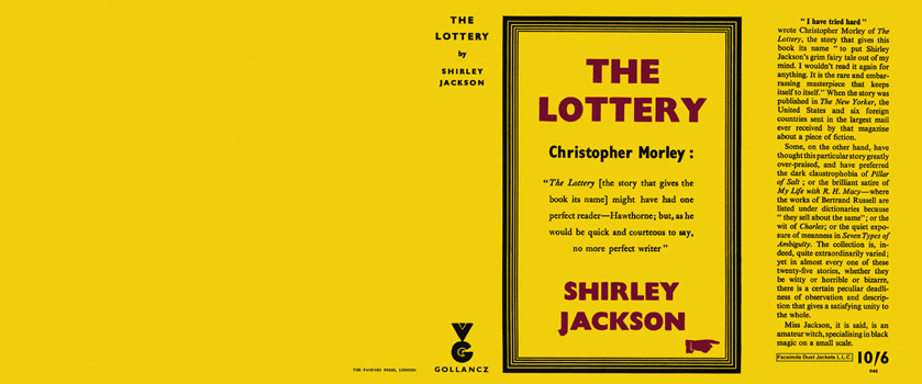 Lottery, The. Shirley Jackson