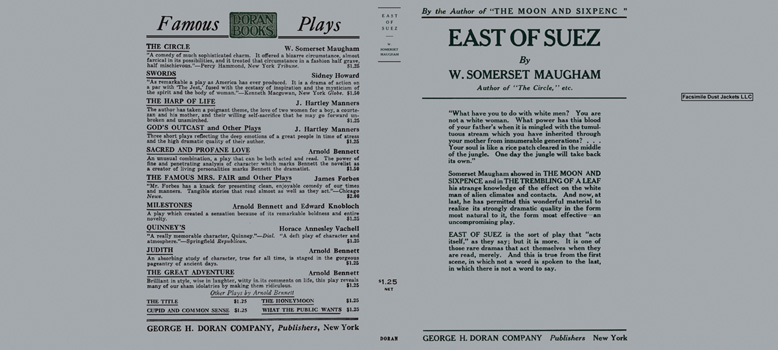 East of Suez. W. Somerset Maugham