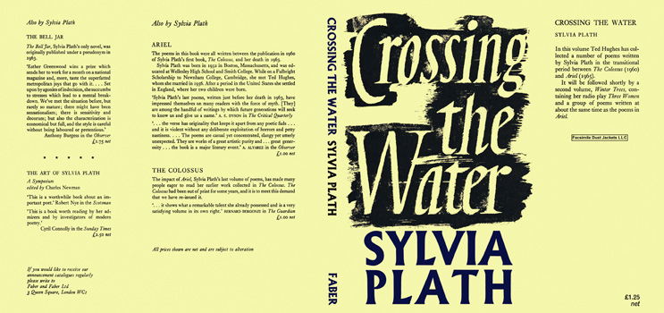 Crossing the Water. Sylvia Plath