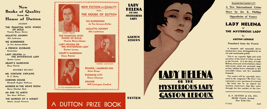 Lady Helena or the Mysterious Lady. Gaston Leroux