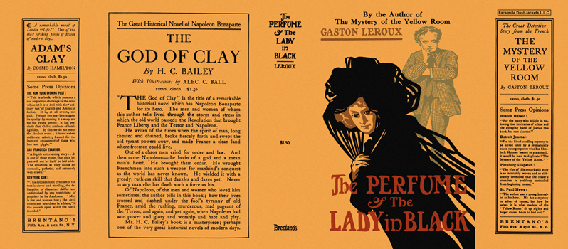 Perfume of the Lady in Black, The. Gaston Leroux