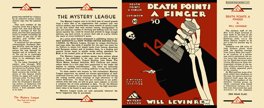 Death Points a Finger. Will Levinrew.