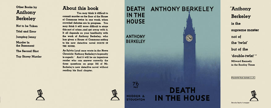 Death in the House. Anthony Berkeley
