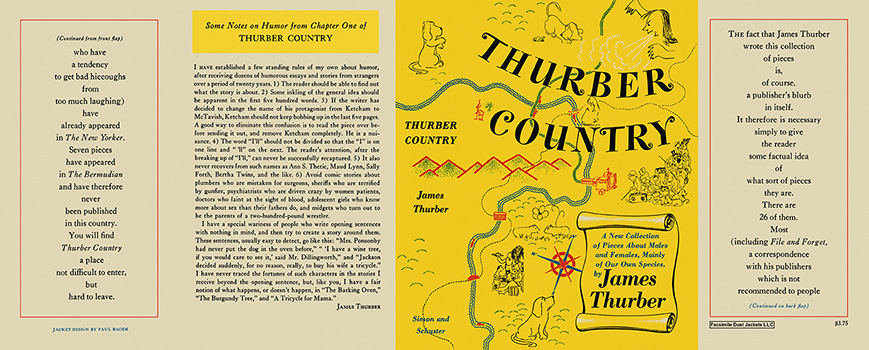 Thurber Country. James Thurber