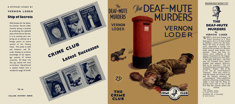 Deaf-Mute Murders, The. Vernon Loder