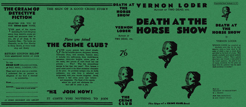 Death at the Horse Show. Vernon Loder
