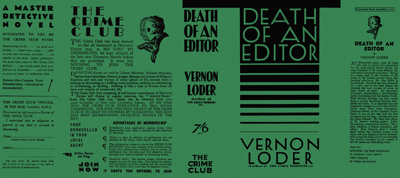 Death of an Editor. Vernon Loder